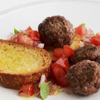 Cocktail Meatballs.