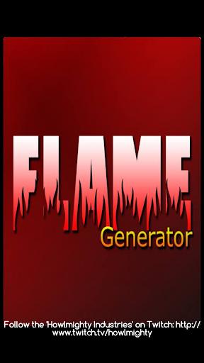 LoL Flame Generator