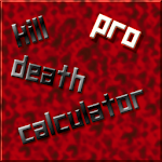 Kill Death Calculator - Pro