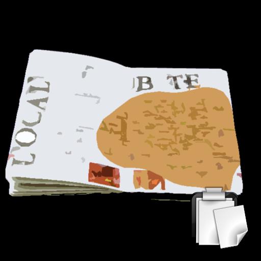 손뼉 클립보드 스크랩북