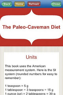 Paleo Caveman Diet- screenshot thumbnail