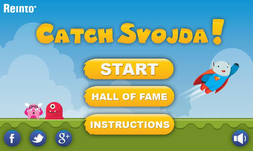Catch Svojda game