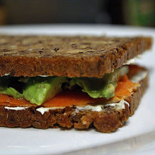 Avocado Cream Cheese Sandwich Recipes.
