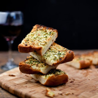 Simple Garlic Bread.