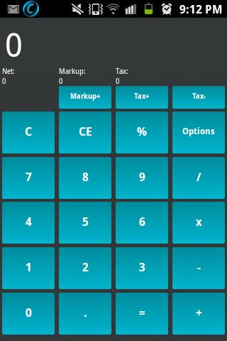 Tax Markup Calc