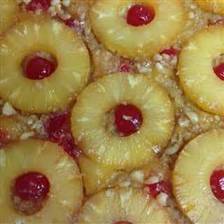 Hawaiian Pineapple Upside Down Cake.