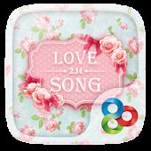 Love SongⅡGO Launcher Theme