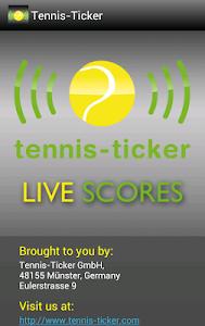 Live Tennis Ticker