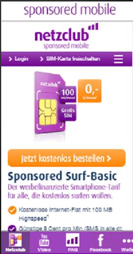netzclub - sponsored mobile