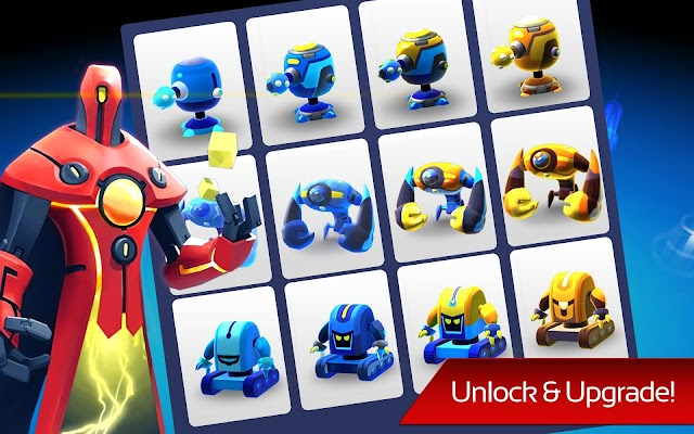 The Bot Squad: Puzzle Battles - screenshot