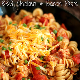 One-Pot BBQ Chicken and Bacon Pasta Recipe