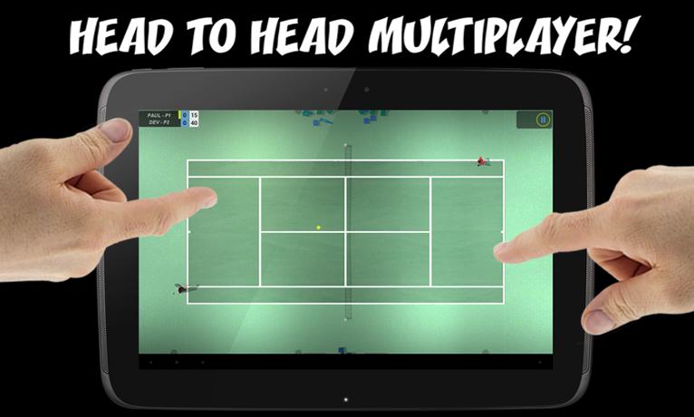 Flick Tennis screenshot #10