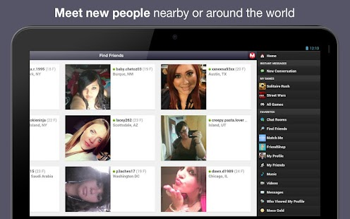 Moco - Chat, Meet People - screenshot thumbnail