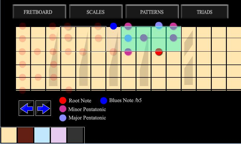 guitar fret master - screenshot