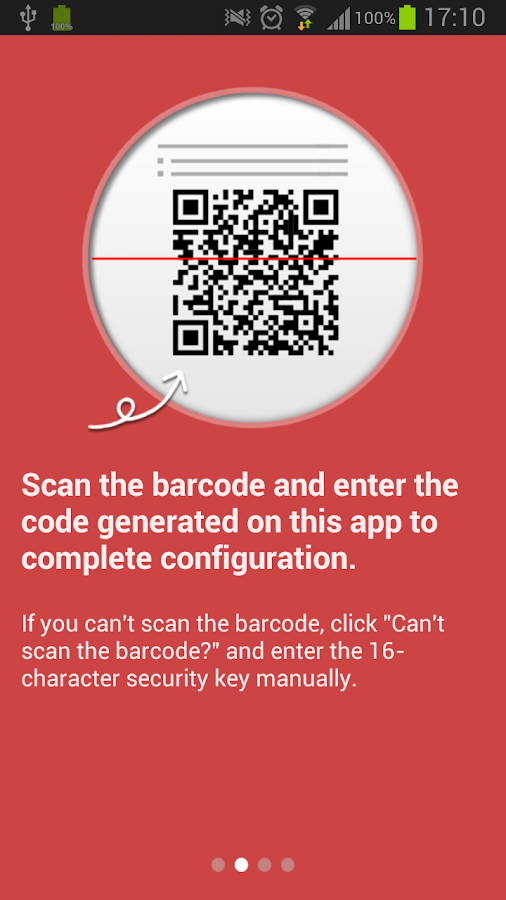 Garena Authenticator - screenshot