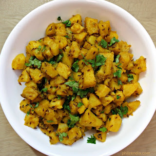 Indian Style Potato Curry
