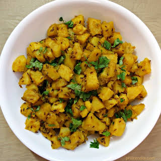 Indian Style Potato Curry.