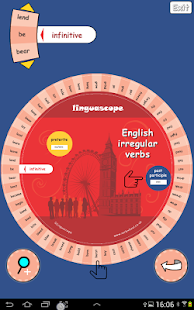 Verb Wheel : English- screenshot thumbnail