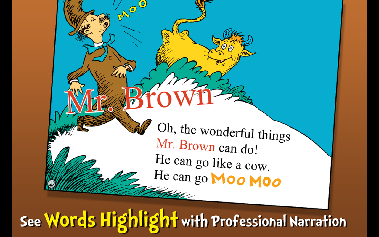 Mr. Brown Can Moo! Can You?- screenshot