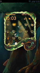 Elven Forest Toucher Pro Theme- screenshot thumbnail
