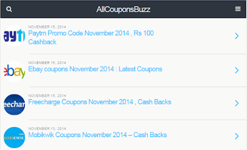 All Coupons Buzz screenshot 2