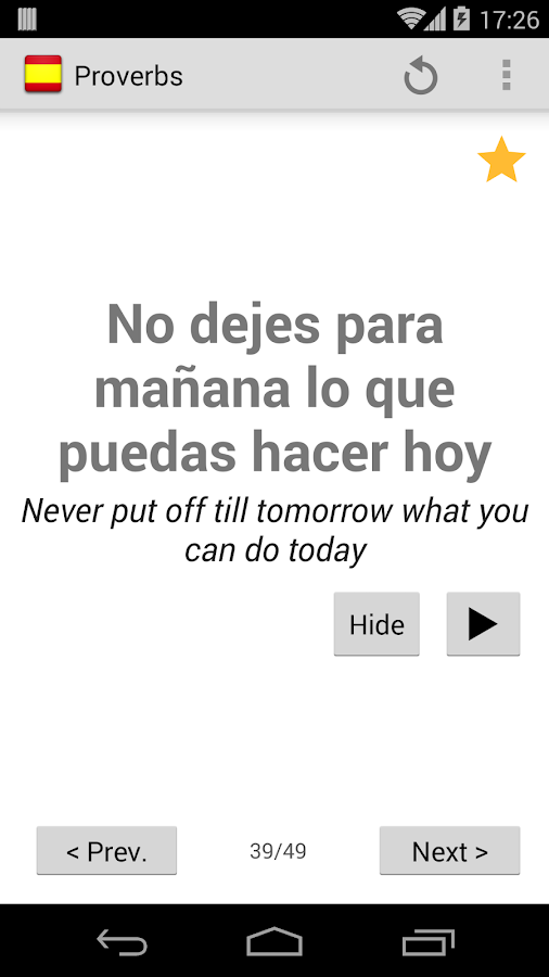 ¡Hola! - Learn Spanish- screenshot