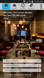 Club Carlson — Hotel Rewards - screenshot thumbnail