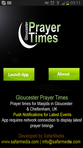 Gloucester Prayer Time