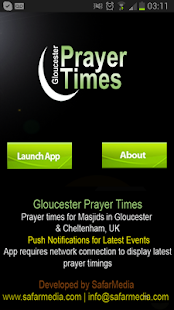 Gloucester Prayer Time - screenshot thumbnail