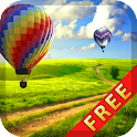 Hot Air Balloon Free icon