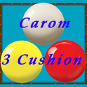Carom 3 Cushion (Billiard) icon
