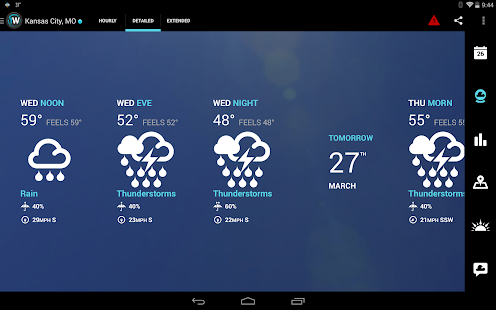 1Weather:Widget Forecast Radar Screenshot 17