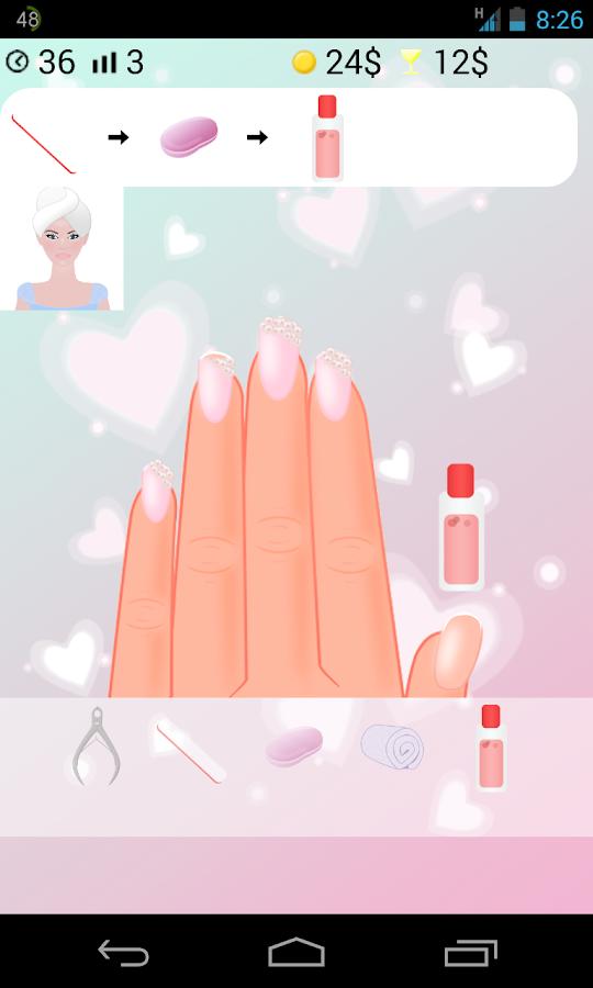 salon de beauté jeux de fille - screenshot