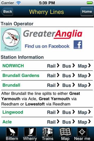 Bittern and Wherry Rail Lines- screenshot