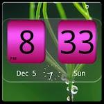 FlipClock NiceAll Pink Widget Apk