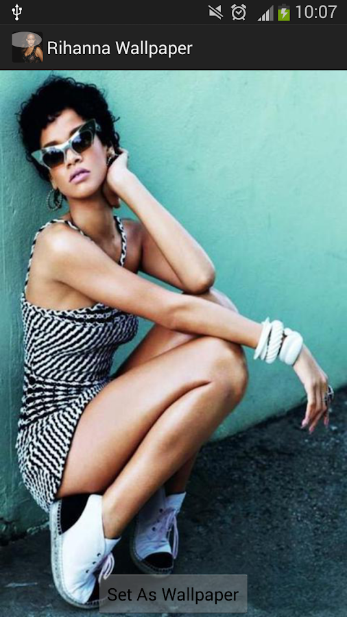 Rihanna Wallpaper HD 2014 - screenshot