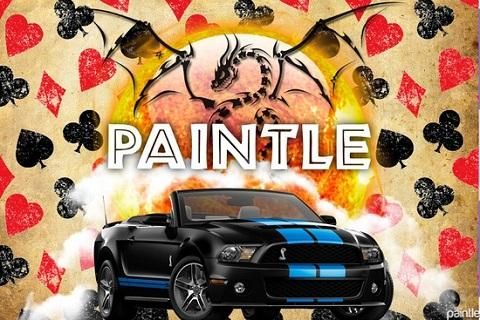Paintle - Fun Photo Collages - screenshot