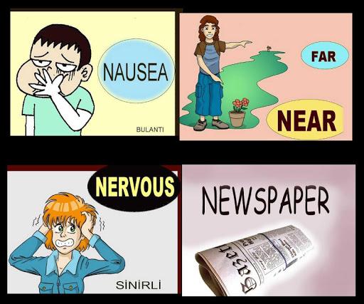 İngilizce Kelime Kartları