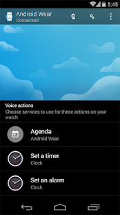 Android Wear - screenshot thumbnail