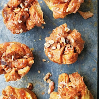 "Caramel Croissant Bread and Butter ""Puddings"" From ""The Ginger & White Cookbook""."