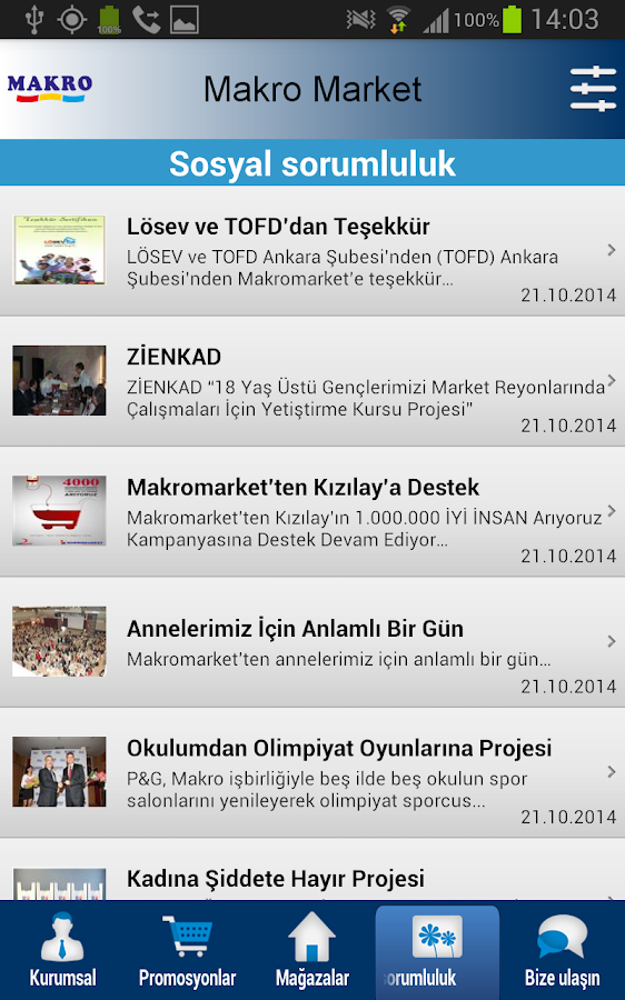 Makro Market- screenshot