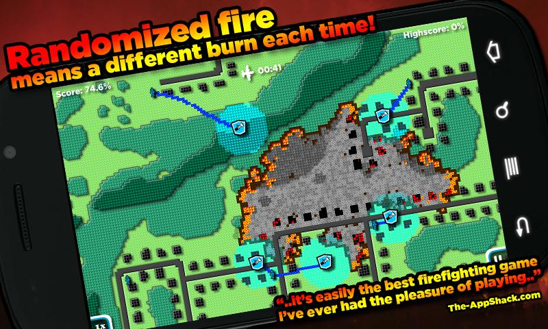 FireJumpers - Wildfire RTS- screenshot