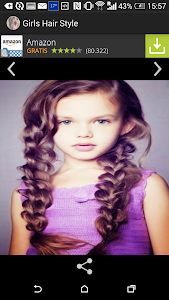 Trendy hairstyles for girls screenshot 4