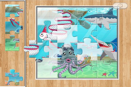 Underwater Jigsaw for Toddlers