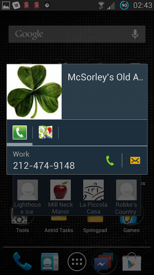 Live Groups - screenshot