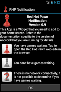 Red Hot Pawn Notification Widg- screenshot thumbnail