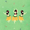 Hula Girls Atom Theme icon