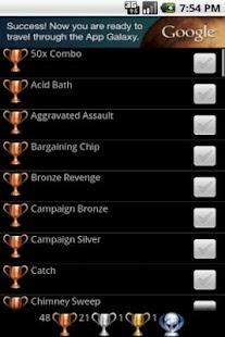 Trophies 4 Batman Arkham City