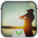 Fishing Live Locker Theme icon