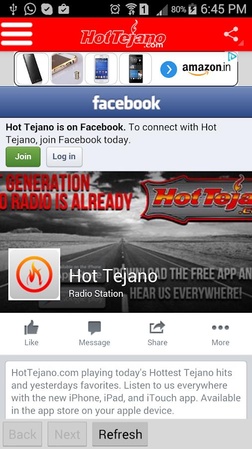 HotTejano - screenshot
